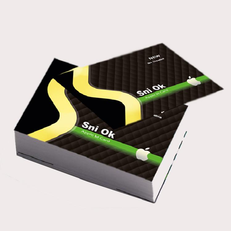 کارت اپل آیدی بسته 500 عددی مدل Sniok