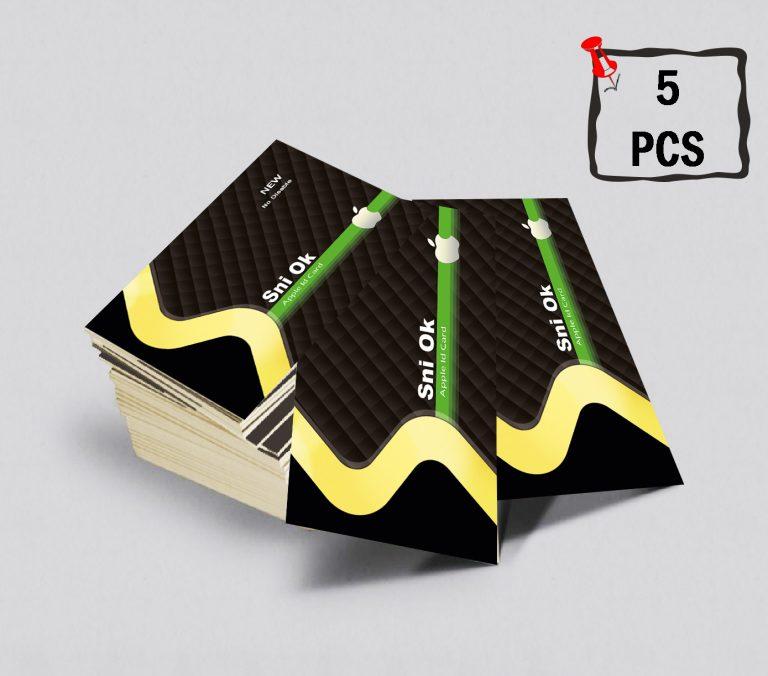 کارت اپل آیدی بسته پنج عددی مدل Sniok